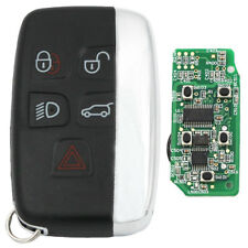 5 Button Smart Remote Key Fob 433Mhz ID49 CHIP for Jaguar XF XJ XL 2013-2014