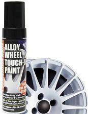 E-Tech Car Alloy Wheel Chip Kerb Damaged Repair Touch Up Paint Pen Stick - WHITE
