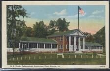 Postcard WEST MONROE Louisiana/LA  G.B. Cooley Tuberculosis Sanitorium 1930's