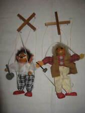Clown  Marionetten aus Holz,