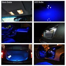 10pcs Blue T10 5050LED Turn License Plate Light For Ford Falcon FG BA BF XR6 XR8