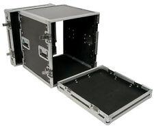 Citronic Rack 19'' equipment flightcase 12U for Audio Disco Amp MultiPurpose NEW