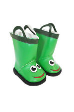 "Froggy Frog Galoshes Wellingtons Rain Boots Fits 18"" American Girl Boy Doll"