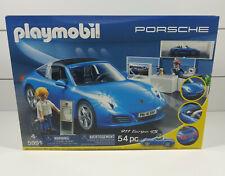 Playmobil #5991 Porsche 911 Targa 4S - Playmobil Porsche Showroom (54 pc) * New