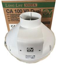 ASPIRATORE VORTICE - CA 100 V0 DUAL assiale in resina autoestinguente