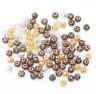 10/25/50/100x Antike Metall Perlen Kugel - Tibetisch Hippie Zwischenperle Spacer