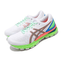 Asics Gel-Nimbus 22 Lite-Show White Sunrise Red Green Men Running 1011A890-100