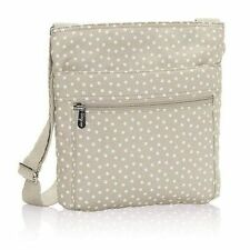Thirty One Organizing Shoulder Taupe Dancing Dot  NEW