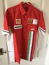 New listing Puma Scuderia Ferrari F1 Team Shirt Sample Version Very Rare  Medium