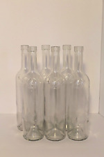 Six Empty Stella Rosa Wine Bottles- 750 ml - cleaned and labels removed