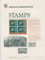#1474 1972 8c Stamp Collecting Stamp USPS #8 Commemorative Stamp Panel