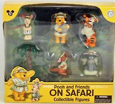 Disney Figures Pooh And Friends On Safari collectible figures