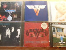 Van Halen [6 CD ALBUM] I + II + ou812 + 1984 + unlawful + LIVE