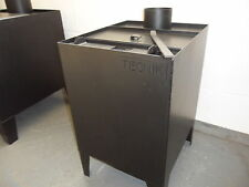 sawdust-wood shavings-wood burning-workshop stove