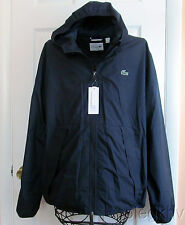 Lacoste new Men's  Lightweight Windbreaker Navy Jacket $195.00 Size S