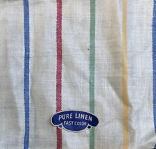 Vintage Usa Linen Kitchen / Tea / Hoosier / Dish Towel 16x28 unused!
