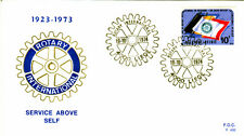 Belgien 1784 FDC, 50 Jahre Rotary