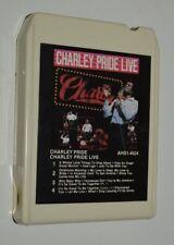 Vintage Charlie Pride Live 8-Track Cassette Tape MINTY Rare AHS1-4524 RCA