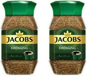 Jacobs Kronung Instant Coffee 100 Gram / 3.5 Ounce (Pack of 4 ) EXP:03/2021