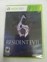 Resident Evil 6 (Microsoft Xbox 360, 2012) Free Fast Shipping