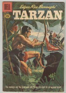Tarzan #123 April 1961 VG