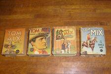vintage BIG LITTLE BOOKS: 4 TOM MIX BLBS in mid grade