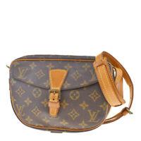 Auth LOUIS VUITTON Jeune Fille PM Shoulder Bag Monogram Leather M51227 83MD622