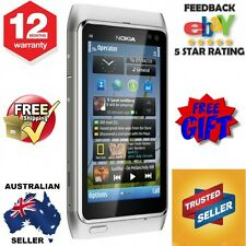 Nokia N8 Unlocked 3G 12MP WIFI Mobile Silver 12 Mths Aust Warranty Full Package