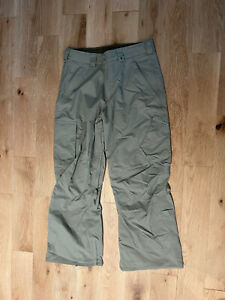 New Without Tag Mens BURTON DryRide CARGO Snowboard Ski Snow PANTS Size Medium