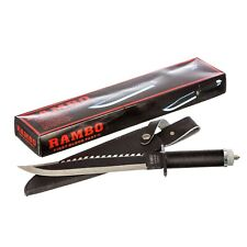 "Zurich16"" 5.5mm RAMBO II FIRST BLOOD Hunting Survival multi-function Knife film"