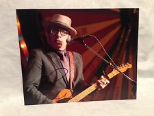 Elvis Costello SIGNED AUTOGRAPHED 8X10 PHOTO MUSIC COA WOW