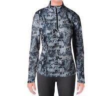 NWT. Reebok Womens Typetoken Printed Half Zip, Sport Jacket, Black, Size Small.