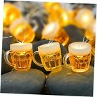 Beer Party Decoration Lights, USB & Battery Operated Indoor Led String Lights