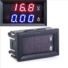 1PCS DC 0-100V 10A Dual LED Digital Voltmeter Ammeter Voltage AMP Power