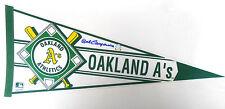 Bert Campaneris Autographed Signed Oakland Athletics A's Campy Baseball Pennant