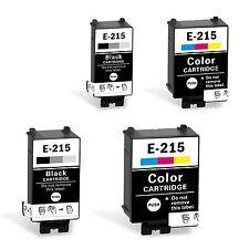 Compatible T215 Ink Cartridge 215 for Epson WorkForce WF-100 4pk(2set)