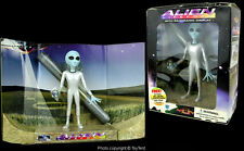 Shadowbox gray Alien Lifeform with panoramic display boxed 1995