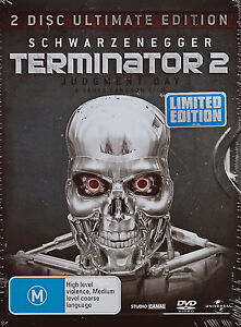 The Terminator 2: Judgement Day / Arnold Schwarzenegger - Action - NEW DVD