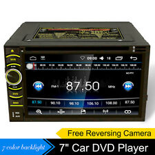 """Car Radio Stereo Android 6.2"""" Double 2 Din Dvd Player Gps Nav Obd2 Bt WiFi +Cam"""