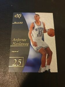 2012-13 Fleer Retro EX Anfernee Hardaway NBA Basketball card. RARE no. 25.