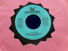 J.G. LEWIS~ THAT'S HER THAT'S THE GIRL FOR YOU~ KILLER TWO ~MODERN SOUL~ SOUL 45