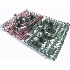 270Pcs Military Soldiers Toy Kit Army Men Figures & Accessories Model For Sand