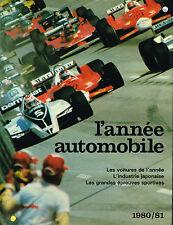 livre automobile: collectif: l'année automobile 1980-1981. edita