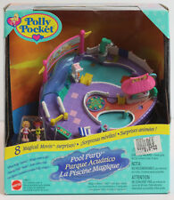 Mattel 1997 Vintage Polly Pocket Magical Movin' Pool Party 18677 w/ 8 Surprises!