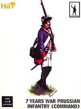 HaT Miniatures 1/32 PRUSSIAN INFANTRY COMMAND 7 YEARS WAR Figure Set