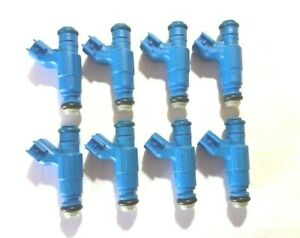 Bosch Upgrade Fuel Injector Set for Jaguar/Land Rover - NEW BOSCH X 8