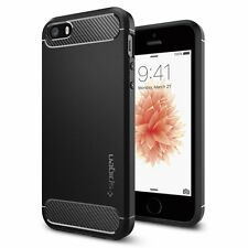 iPhone SE/5S/5 Spigen Rugged Armor Case - Black