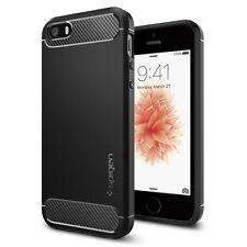iPhone SE/5S/5 Spigen Rugged Armor Case - Black