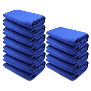 72x80 10PCs Thick Furniture Moving Packing Blanket For furniture Pads