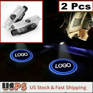 2x For BMW CREE LED PROJECTOR DOOR LIGHTS SHADOW PUDDLE COURTESY LASER LOGO